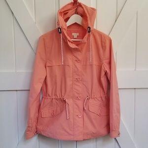 J. Crew Rainy Day Jacket Size Small